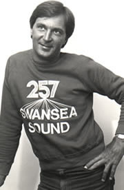 first publicity shot at swansea sound ... oooh i say!!!