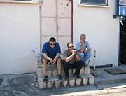 Kosovo-Waiting at the Border!
