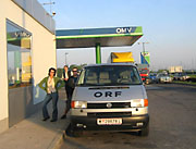 Kosovo - The ORF Team on their way!